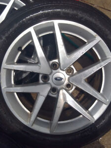 Alloy Rims with Tires