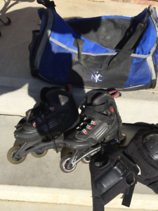 Womens In-Line Skates (Size 6)
