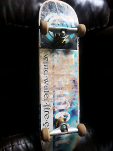 Element board with royal trucks.