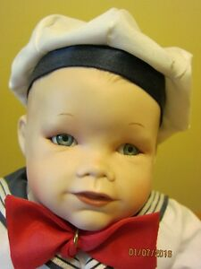 "PORCELAIN DOLL ""MATHEW""   ASHTON DRAKE GALLERY-REDUCED"
