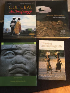 1st Year anthropology textbooks