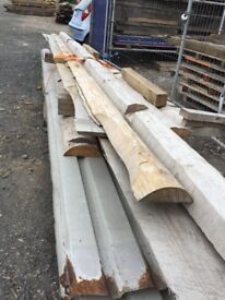 Timber off cuts Douglas fir.