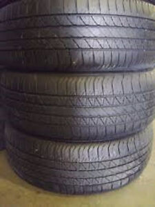 195/60R15 Set of 4 Triangle Used Free Inst.&Bal.75%Tread Left