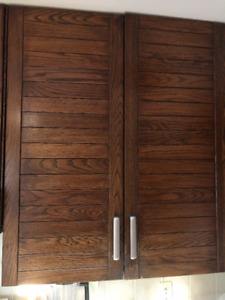 Used Kitchen Cabinets - solid oak