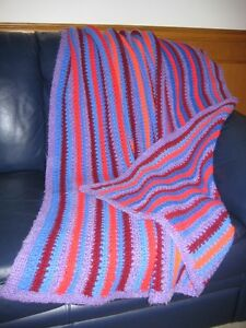 HAND MADE AFGHAN BLANKET