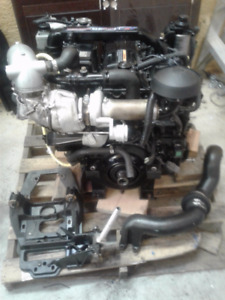 120HP cummins/mercruiser diesel engine and leg.
