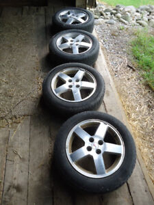 Michelin Primacy MXV4 P205/55R16 tires and rims