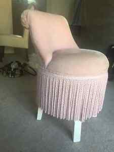 Beautiful girls pink chair