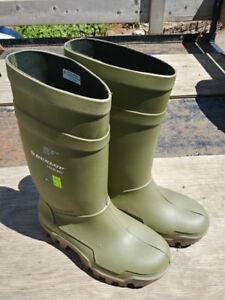 Dunlop Steeltoe Rubber boots