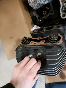 Harley Davidson complete 103 top end with heads