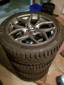 BNew 245 45 19 Toyo Observe G3 ICE on BMW X3 alloy rims 5x120