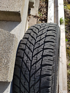 4 x Goodyear Winter Tires with Rims, 195/60R15, ~ 8,000 kms