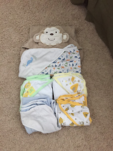 6 Infant/Baby towels