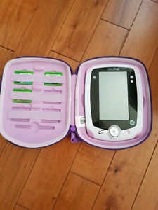 Girls leap pad with 4 games