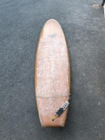 7'8 Longboard Surfboard