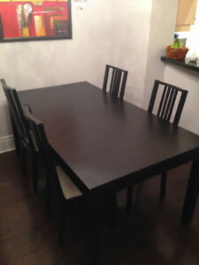 Ikea Dining Room Set (Bjursta) - Great shape! $250
