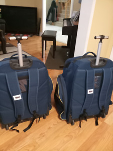 Reebok 18K Wheeled hockey bag