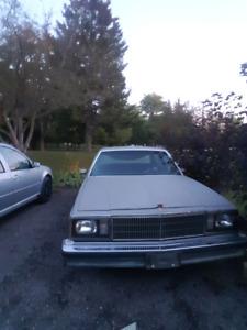 1980 Chevy malibu classic