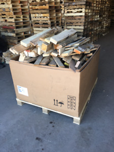 Boxed Pallet Full Of Wood