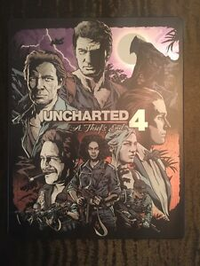 PS4 UNCHARTED LIMITED EDITON!!