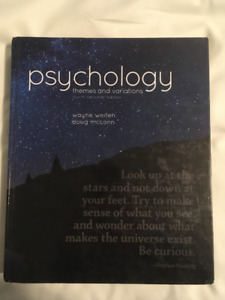 Themes and Variations Psychology - 4th Edition - Weiten & McCann