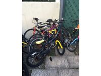 Job lot of bikes for parts