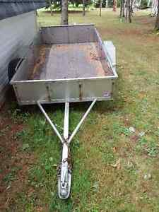Stainless Steel trailer 4x8