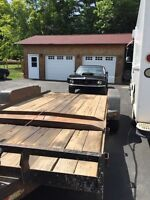 Transport/ Towing service 16.5 ft lowboy