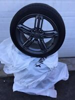 "4 Mags 17"" Audi Bolt pattern 5x100"