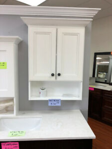 bathroom medicine upper cabinet on floor sale!!!
