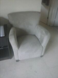 Ikea microfiber chair-