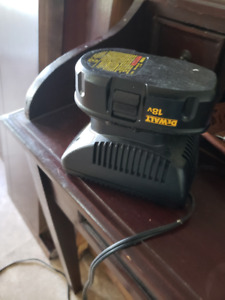 Dewalt 18volt battery (1)  and charger