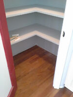 Built ins and custom carpentry