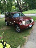 Loaded and Lifted 2008 Jeep Liberty
