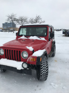 2004 Jeep TJ Wrangler  ( USA car from original owner).