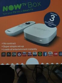 Now tv box free 3 months entertainment pack