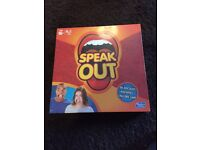 New sealed Speak out board game