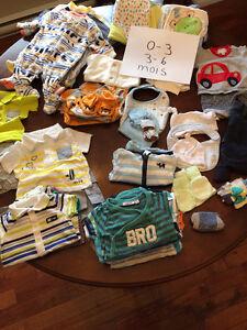 Vêtements bébé garçon 3-6 mois