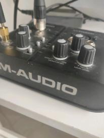 M-Audio M-Track II Audio interface