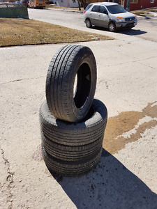 215/65/16 Tires Set of Four - Safe for AWD