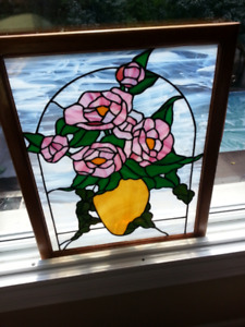 Hanging Stain Glass Window