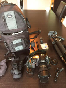 Nikon D300s DSLR + Lens AF-S Nikkor 16-85mm + Accessories