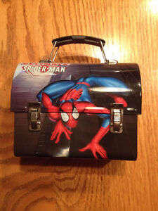 Spider-Man Mini Lunch Box Tin Circa 2001
