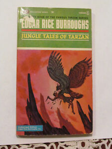 Edgar Rice Burroughs Paperback Novel