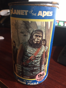 Planet of the Apes Jigsaw Puzzle 1967 Apjac Rare Vintage General