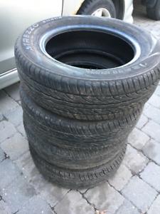 4 pneus d'été 175/65/R14