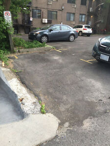 Great parking spot near McGill and Plateau for $110/mth only