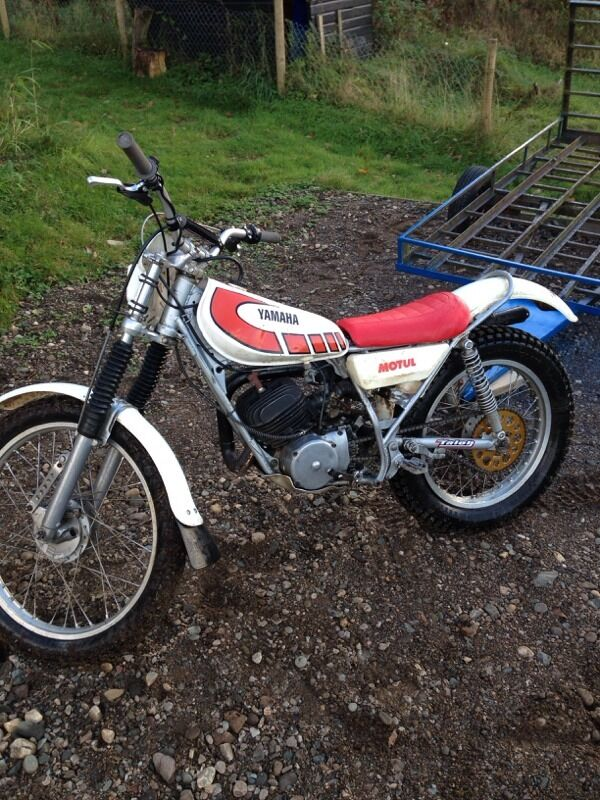 Yamaha Ty   Trials Bike For Sale