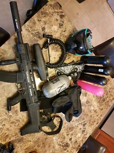 Tippmann X7 Phenom and gear
