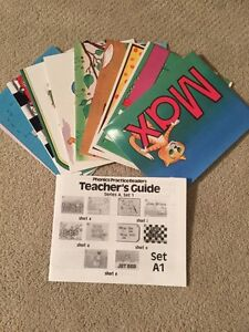 Like New! PHONICS PRACTICE READERS by modern curriculum press
